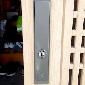 ALPHAの引き戸錠