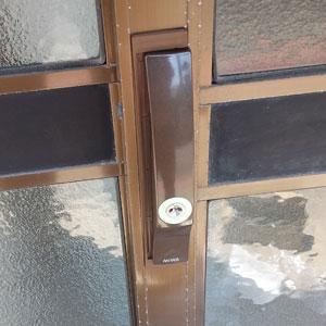 MIWAのPSSLの引き違い戸錠