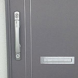 GOALのV18に交換をした玄関扉