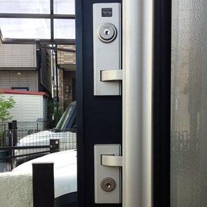 KABA社のカバエースシリンダーに交換をした玄関ドア