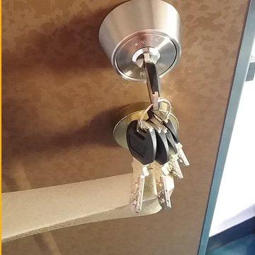 家の玄関ドアなどの鍵紛失トラブル