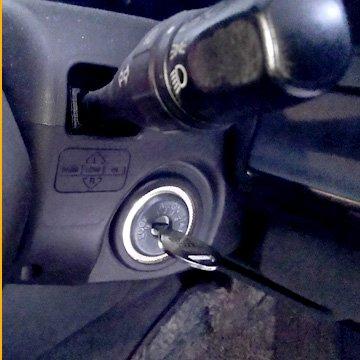 無くした車の鍵を作る