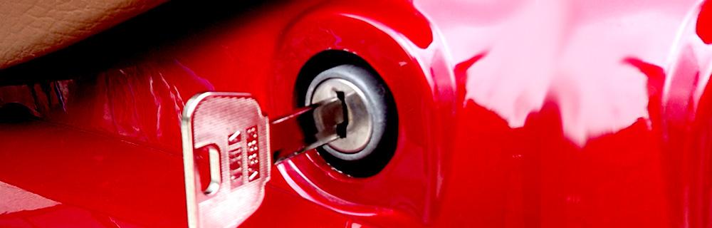 バイクの開錠